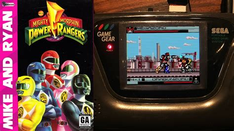 Game Gear Mighty Morphin Power Rangers Game Gear Mike Ryan Youtube