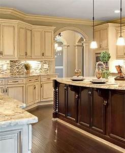 25 antique white kitchen cabinets ideas that blow your for Kitchen colors with white cabinets with vintage tin tiles wall art