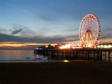 central pier blackpool photo