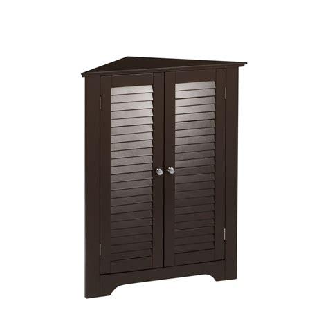 corner shelf cabinet bathroom riverridge home ellsworth 18 in l x 31 1 4 in h x 25 1 2