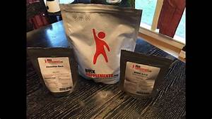 Bulk Supplements Packaging And Product Review