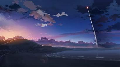 Anime Nature Sunset Desktop Backgrounds Wallpapers