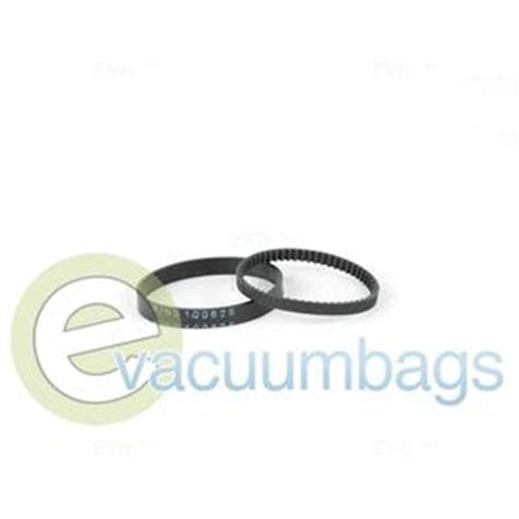 bissell upright cleaner vacuum belts 2 pack 6960w