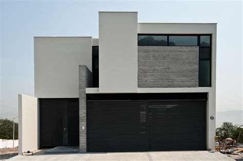 Edificaciones CIEN Fachada de residencia estilo