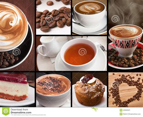 Coffee Tea Chocolate Stock Photo   Image: 40560501