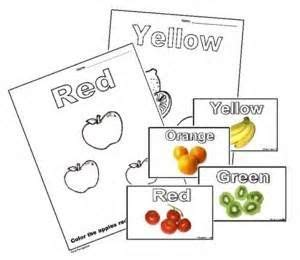 worksheets  preschoolers colors bing images