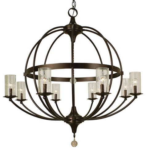 Transitional Chandeliers For Foyer by Shop Houzz Framburg 8 Light Compass Foyer Chandelier