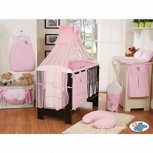 Parure De Lit Enfant : parure de lit b b bonne nuit rose linge de lit b b ~ Teatrodelosmanantiales.com Idées de Décoration