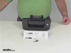 Pop  U0026 Lock Custom Locking Tailgate Handle - Manual