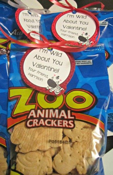 animal cracker valentines xoxo valentines day cards