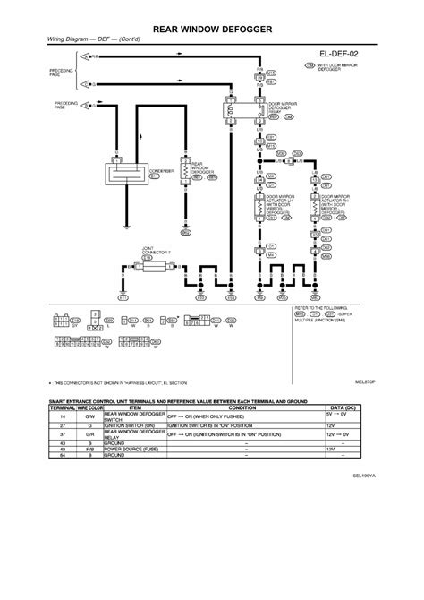 2006 Nissan Maxima Wiring Diagram Window by Repair Guides Electrical System 2003 Rear Window