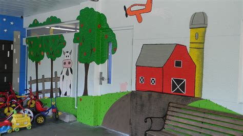 chico s employees create playground mural for ccmi 402 | CCMI school 2013 2
