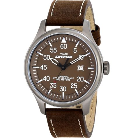 Expedition E6658m Brown timex expedition field brown gents t49874