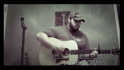 She Got The Best Of Me Cover