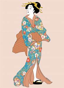 Traditional Geisha by veerlez on DeviantArt