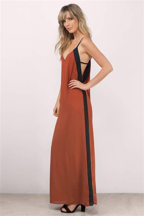 color block maxi dress mauve maxi dress colorblock dress purple dress