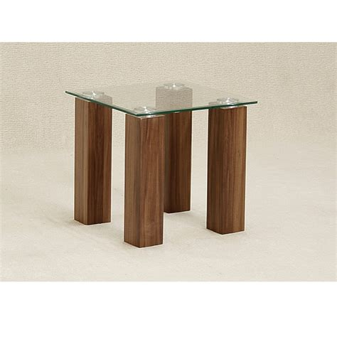 clear glass bedside table mirage clear glass side table forever furnishings