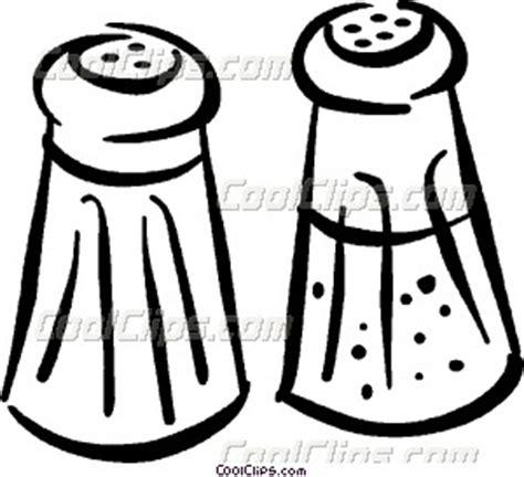 salt and pepper clipart black and white salt shaker drawings clipart