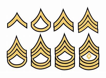 Army Military Stripes Vector Rank Vecteezy Clipart