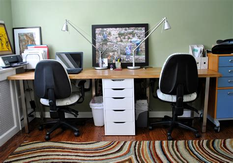 ikea home office desk ideas rousing and smart home office ideas with 2 person desk at