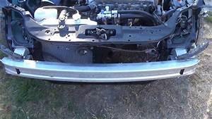 Installing Front Bumper Reinforcement