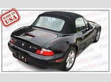 1996 thru 2002 BMW Z3 & M Roadster Convertible Tops and