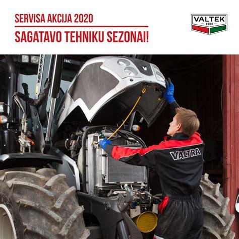 Valtek - Servisa akcija 2020-sagatavo tehniku sezonai!