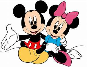 4570book 1080 Uhd Minnie And Mickey Mouse Clipart Pack 6446