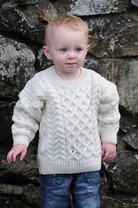 The Wee Classic Children's Aran Sweater