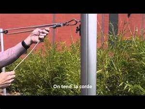 Mat Pour Voile D Ombrage : installer une voile d 39 ombrage sur un m t par espace ~ Dailycaller-alerts.com Idées de Décoration
