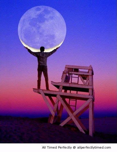 Holding The Heavy Moon  This Man Has Some Supernatural