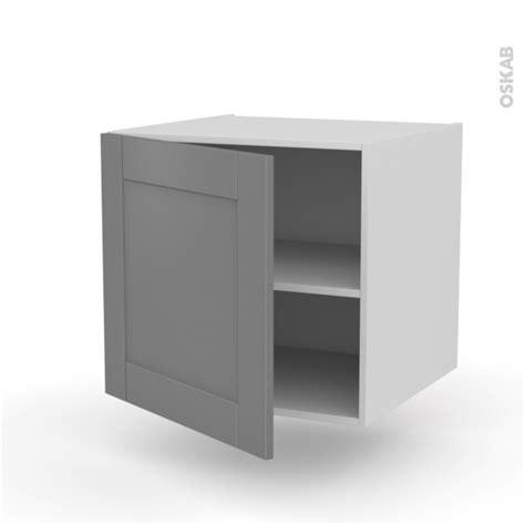 meuble cuisine suspendu meuble de cuisine bas suspendu filipen gris 1 porte l60 x