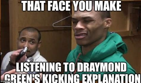 Draymond Green Memes - confused russell westbrook imgflip