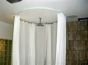 circle shower curtain rod white shower curtain ceiling