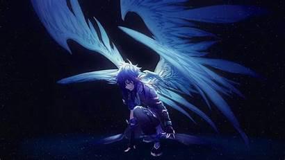 Wings Angel Anime Artwork Artist Digital Wallpapers