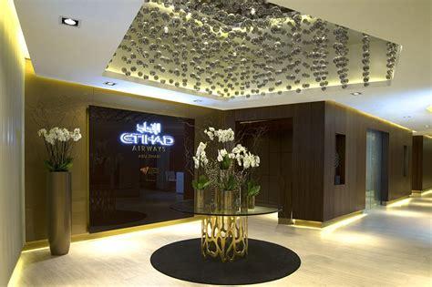 etihads stunning  class lounge daily mail