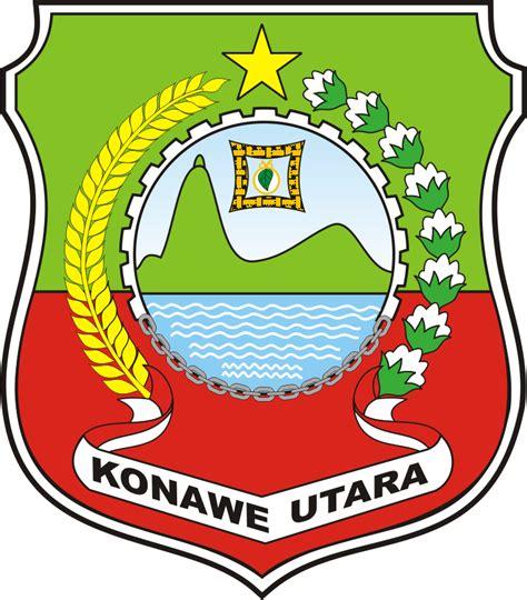 logo kabupaten konawe utara kumpulan logo indonesia