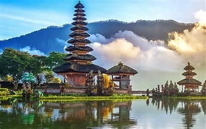 Bali Pura Danu Ulun Temple Bratan 4k