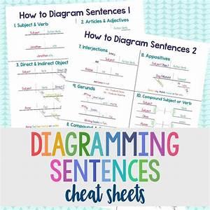 Diagramming Cheat Sheets Grades  4