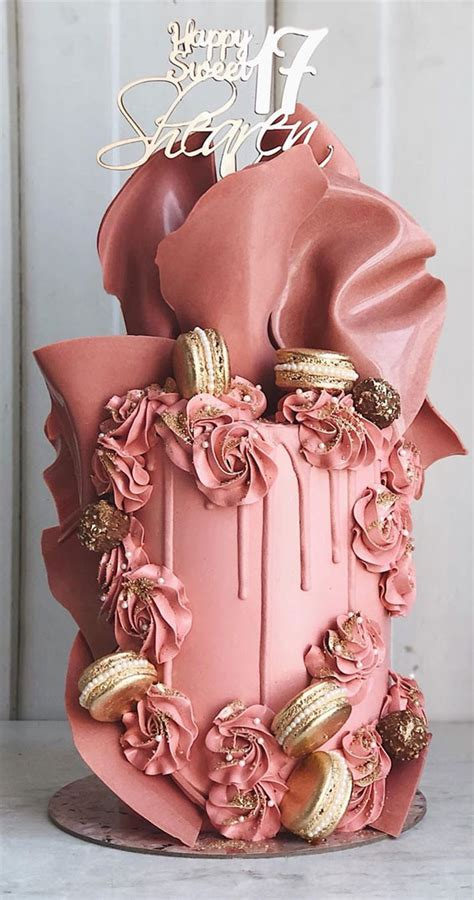 Maybe you would like to learn more about one of these? 49 Cute Cake Ideas For Your Next Celebration : Dusty Rose ...