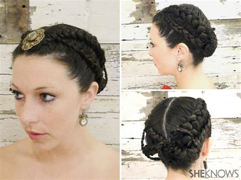 The Hunger Games Wedding Hairstyle Tutorial