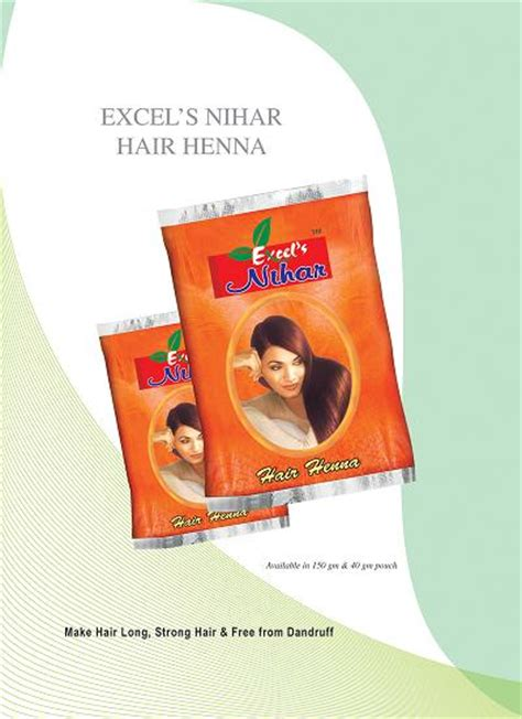 Exle Hair by Excell Impex Gujarat Pvt Ltd Henna Powder Herbal