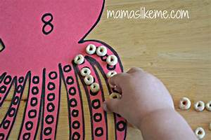 Octopus Counting And Fine Motor Skill Activity For
