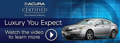Pre Certified Acura by Certified Pre Owned Acuras For Sale In Chicagoland