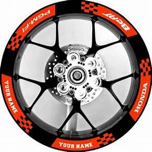 2x Honda Beat Fi V2 Mag  Rim Vinyl Decals  Sticker Pair