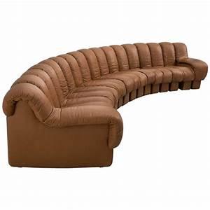 Sofa In Cognac : de sede ds 600 non stop sectional sofa in cognac leather at 1stdibs ~ Indierocktalk.com Haus und Dekorationen