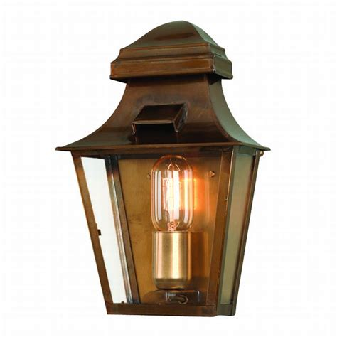elstead st pauls brass wall lantern solid brass outdoor