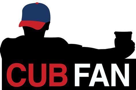 Cubs Fan Silhouette Digital Art By The Heckler