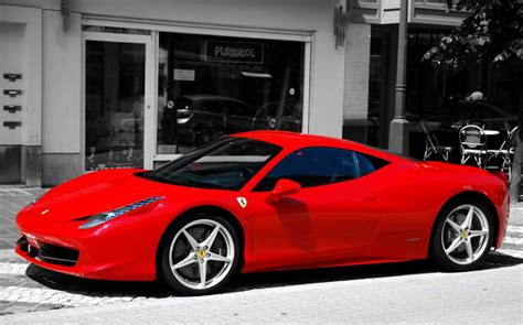 ferrari  hd wallpaper  gludy