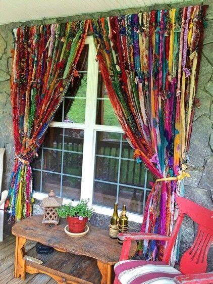 25  best ideas about Hippie Curtains on Pinterest   Scrap